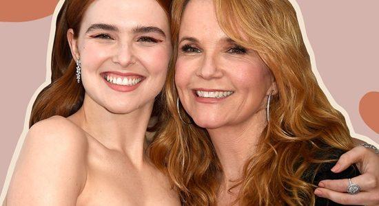 A ligação mãe/filha entre Zoey Deutch e Lea Thompson é muito visível